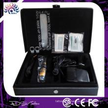 Kit de maquillage pour maquillage cosmétique permanent Matériel de tatouage, type de pistolet électrique et matériel en cuivre Kit de maquillage permanent