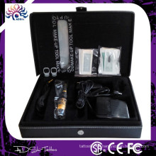 Permanente Cosméticos Maquiagem Pen Tool Kit Tattoo suprimentos, tipo de arma elétrica e material de cobre Maquiagem permanente Kit de máquina