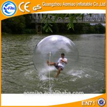 2016 bolas humanas del agua del hámster, bola enorme del agua, bolas inflables del agua para la venta
