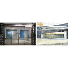 Puertas correderas automáticas con sistema de operador Geze
