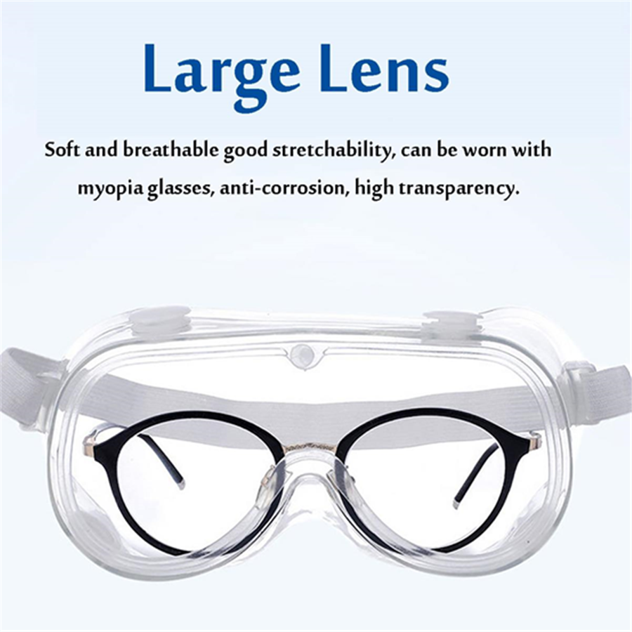 Large Lens Safety Goggles