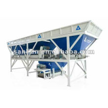 PL1600 3 hoppers aggregate grading hopper mixing tower plants