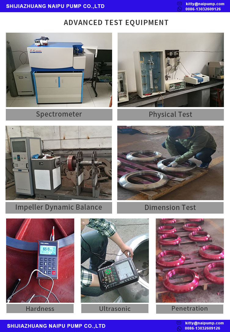 slurry pump Test Equipment