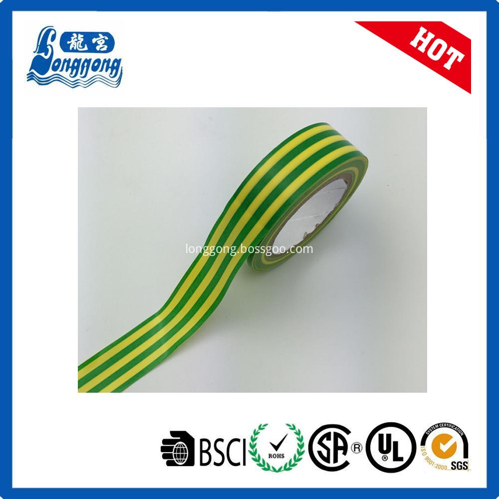 Yellow Green Pvc Tape