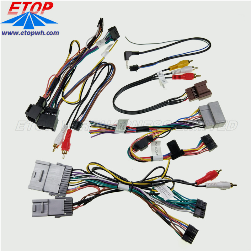 car audio connector cabling