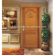 Haustür für Verkauf, moderne Haustürentwurf, vordere Holztür