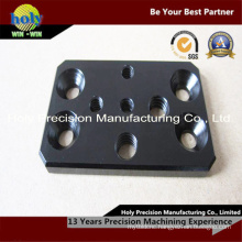 CNC Machining Aluminum Plate with Black Anodizing