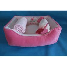"""23 """"camas do cão com cobertor e travesseiro"""