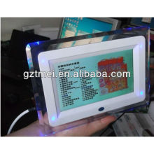 mini home use 2 in 1 LCD 7 inch touch screen skin and hair analyzer test beauty machine