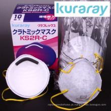 Superfície descartável de carbono ativo anti PM 2.5 para moldagem por Kuraray. Feito no Japão (máscara de proteção contra fumaça)