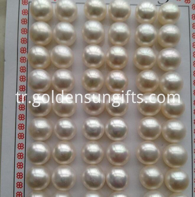 Half Hole Pearl Loose Beads