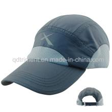 Personalizado Soft tejido de microfibra al aire libre Gorra de deporte de tela (TMR0700)