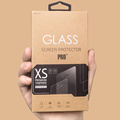 Retail display box for temper glass package