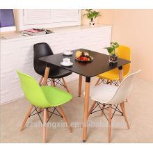 Table carrée, table d'appoint table à manger