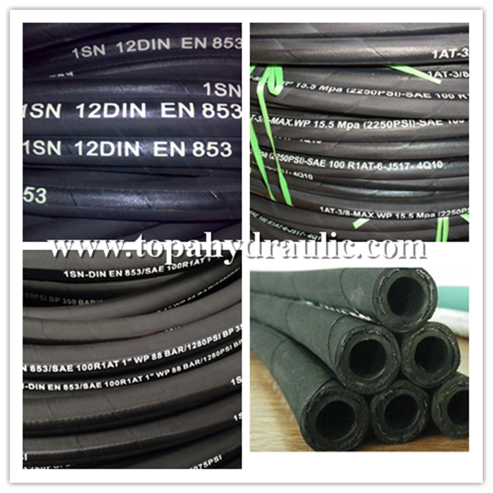 Sae100r1at 1sn High Pressure Hydraulic Rubber Hose