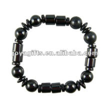 Mode Hämatit Runde Perlen Armband