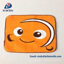Wholesale Crianças dos desenhos animados imprimir toalha de mão de algodão pequeno