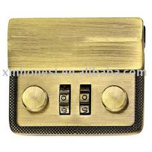 2 codes combination lock
