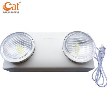 Светодиодное аварийное освещение с регулируемыми двойными головками