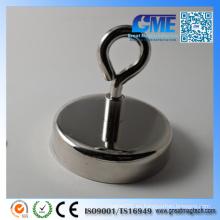Diámetro de alta calidad 75 X14 Altura total 28mm NdFeB Pot Magnets