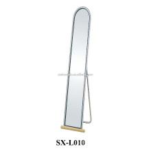 Home Big Long Metal Dressing Mirror Standing Floor para venda