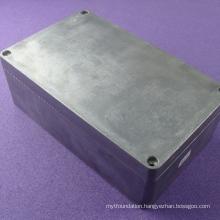 Custom aluminum electronics enclosure integrated terminal blocks aluminum waterproof enclosure AWP511with size 260*160*90mm