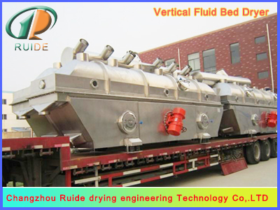 Vibrating fluid bed drier for mine residue