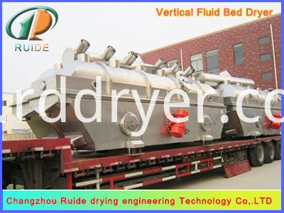 Nickel sulfate vibrating fluid bed dryer