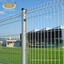 high quality peach post 70x100mm fence for road and garden 3 folds cheap iron garden fence