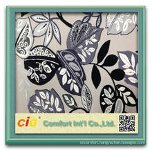 latest design cut pile fabric for sofa and furnitureupholstery fabric leaves