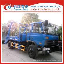 Dongfeng 8cbm capacidad swing lift camión de basura