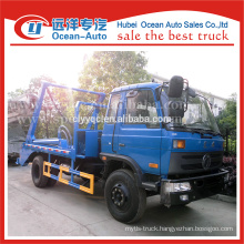 dongfeng 8cbm capacity swing lift garbage truck