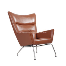 Hans J. Wegner CH445 Leather Wing Chair طبق الأصل