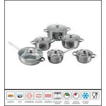 12PCS Belly Shape Stainless Steel Boiler