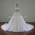 XFM005 cap sleeves lace aliexpress wedding dresses 2017 bridal