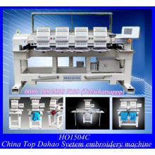 Four Head Automatic Computer Cap Embroidery Machine with Wilcom Embroidery Software