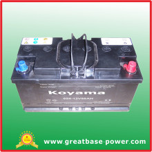 654-12V88ah Dry Cell Motorcycle Battery