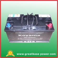 Bateria de motocicleta seca de bateria 654-12V88ah