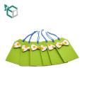 heißprägen china kleidung papier hang tag für tücher