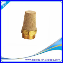 Silenciador de aire de silenciador neumático de cobre amarillo Precio bajo