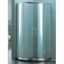 Sanitária Ware alumínio moldura chuveiro simples (H007D)