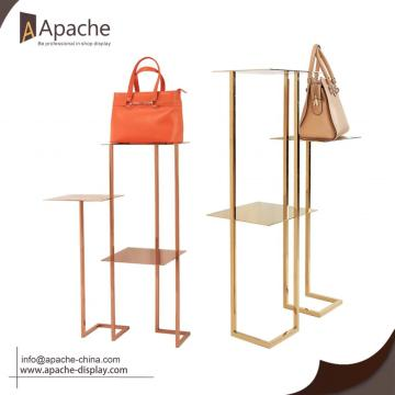 Bag Shoes Display Stand For Clothing Shop