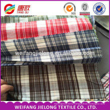 32s 21s 100% cotton yarn dyed check woven fabric uniform fabric 100 cotton yarn dyed woven fabric