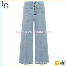 New sale of adult jeans pent denim middle waist jeans