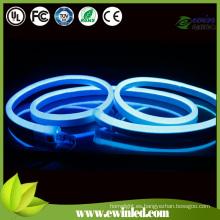 Azul Emitting Color LED Neon Flex cuerda luz