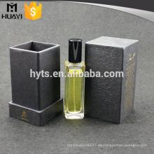 cajas de perfume vacías de papel de lujo de alta calidad por encargo