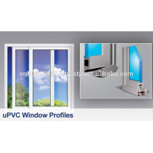 60 series pvc profile for windows and doors, europe style