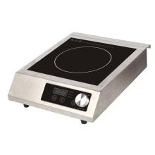 120V / 60Hz ETL / cETL Approved 1800W inducción comercial Cooktop para hotel / restaurante modelo SM-A80