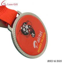 Medalla de oro impresos personalizados baratos deportes (LM1251)