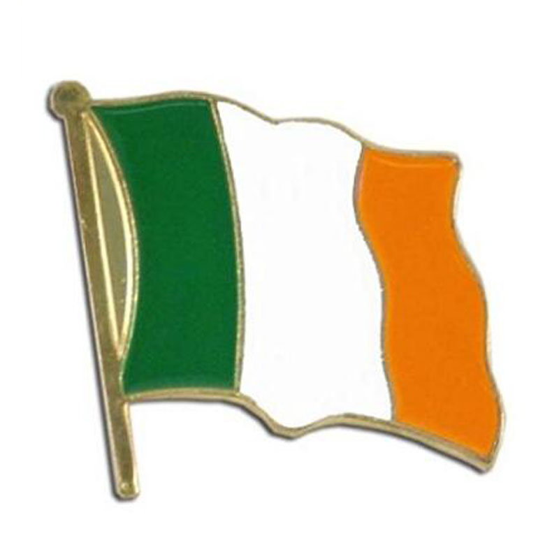Ireland Lapel Pin Flag